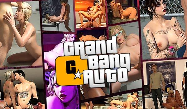 Gangster jeu de sexe avec la baise dans le monde 3D