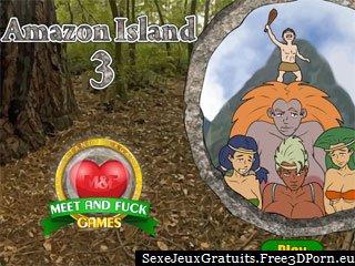 Île Amazon 3 jeu porno exotique avec plage baise