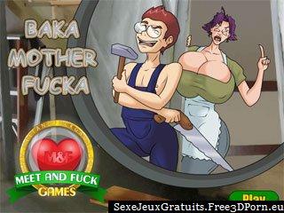 Baka Mother Fucka dans un jeu de sexe torture