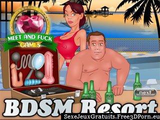 Station de sexe BDSM avec des vacances fétiche et pervertir porno