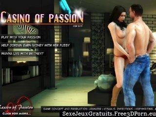 Casino de la passion et de la femme sexy sexe