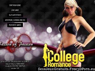 Collège romance avec le sexe de l'élève et dortoir baise