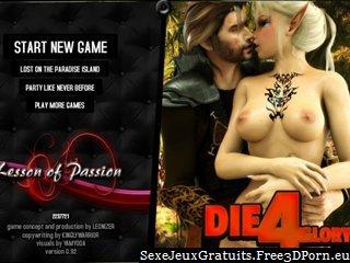 Elfes Mystic et princesses sexy en monstre jeu de sexe