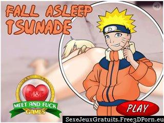 Endormez Tsunade - fille blonde en jeu érotique gratuit