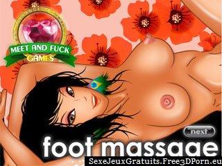 Massage des pieds Fétiche avec pieds malpropres éjaculations