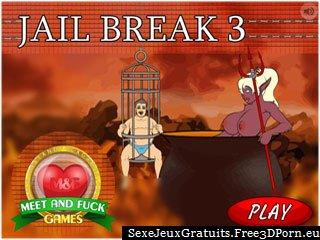 Jail Break 3 jeu porno fétiche avec le sexe de la prison
