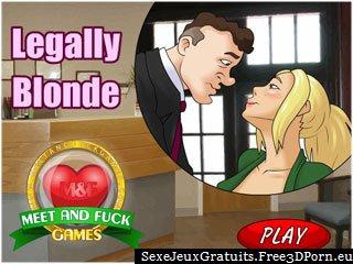 Legally Blonde aime se faire baiser dans le bureau