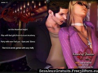 moonlust la première morsure d'un vampire