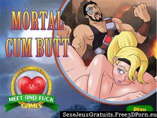 Mortal Cum Butt la version érotique de Mortal Kombat