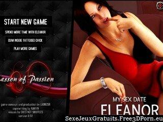 Ce jour Sexe jeu avec un Eleanor sexy