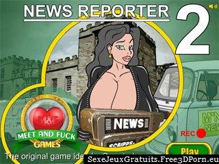 Nouvelles Reporter 2 adultes jeu de sexe en ligne