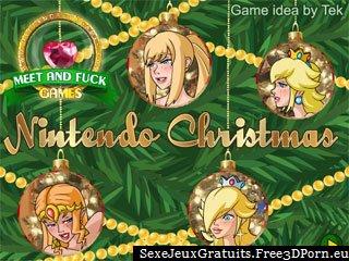 Nintendo Noël lesbiennes jeu de sexe