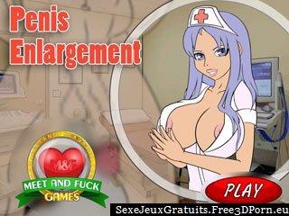 Agrandissement du pénis jeu adulte