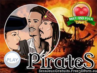 Pirates des jeux porno cartoon Caraïbes