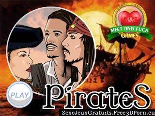 Pirates des jeux porno cartoon Caraïbes