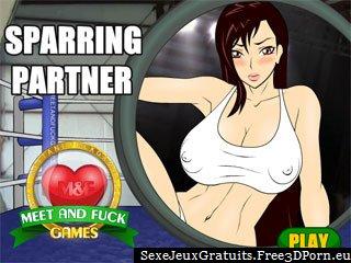 Putain sparring partner et avoir des sexe dans le ring de boxe