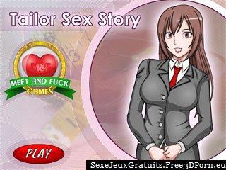 Tailor Sex Story avec un putain de jeu sur mesure sexy