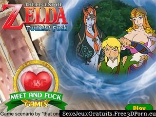 The Legend of Zelda Crépuscule Putain jeu porno