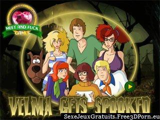 Velma par sexy Scooby Doo baiseur