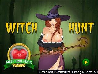 Chasse aux sorcières pour trouver esclaves sexy pour baiser